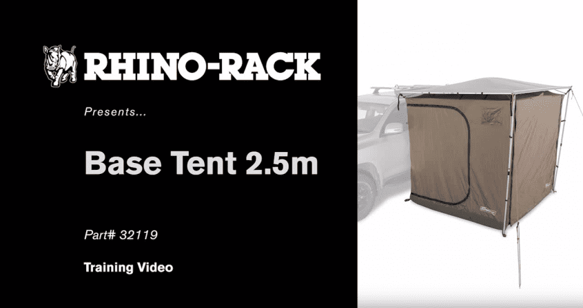 Rhino-Rack-How-to-Set-Up-and-Put-Away-the-Base-Tent-2.5m-YouTube