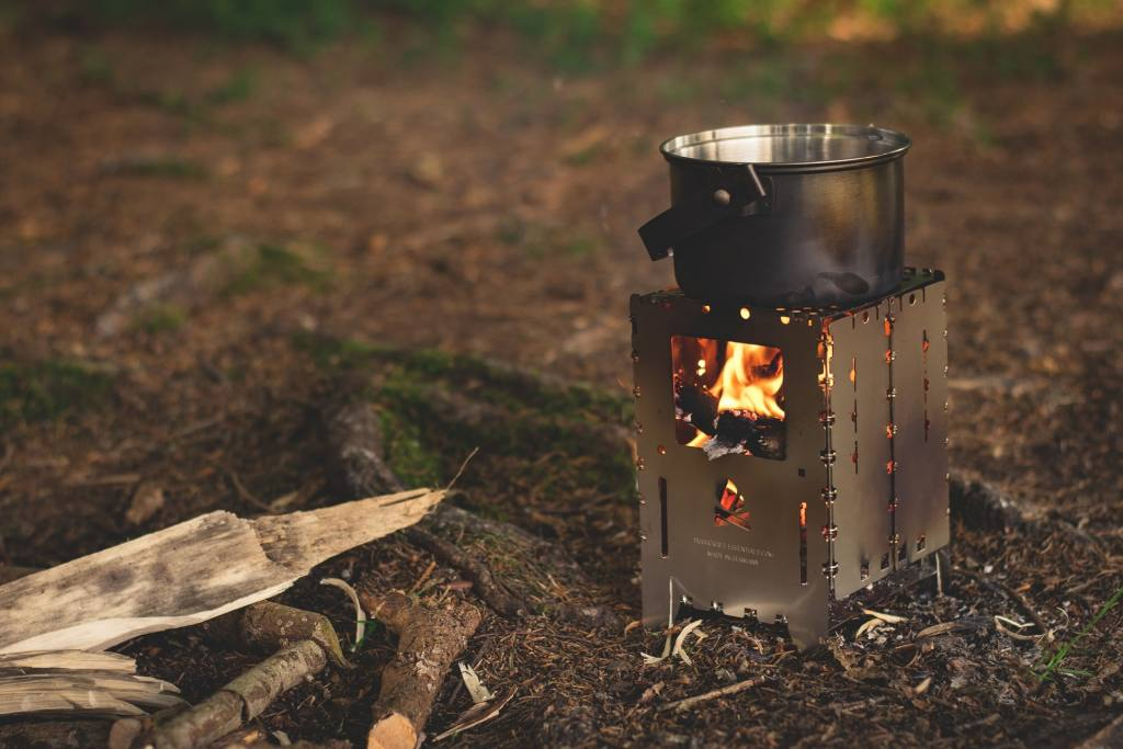 camping essentials - cooking gear