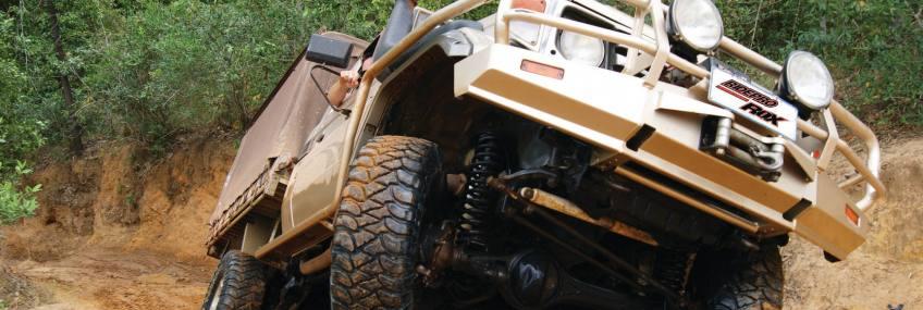 ridepro-suspension-lift-kits in mud
