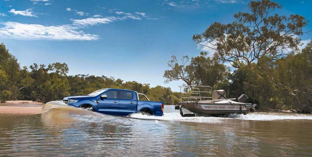 2019 Ford Ranger XLT Double Cab - Best 4wds for boat towing