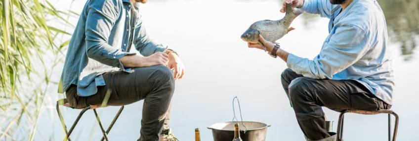3 easy camp fire recipe using your catch of the day