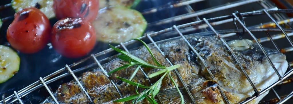 3 easy camp fire recipe using your catch of the day - skewered fish