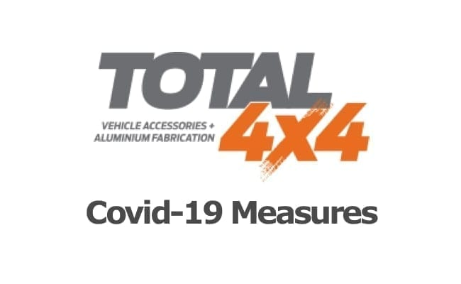 COVID-19 measures taken by Total 4x4