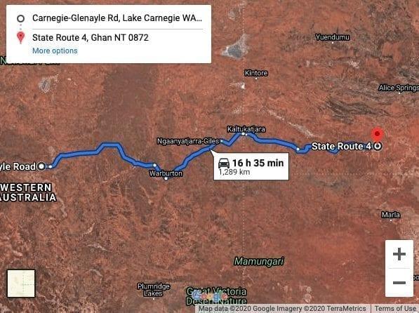 Gunbarrel Highway 4WD Track